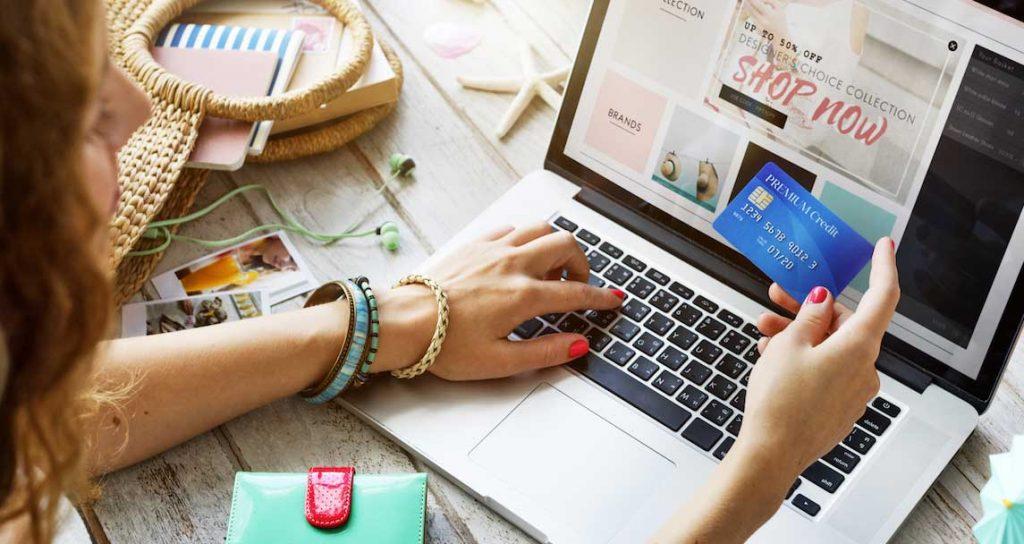 Online nákupy - oblíbený obchod