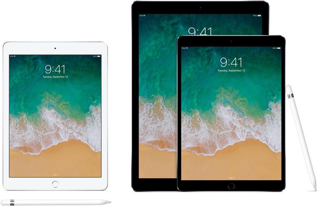 Modely iPad