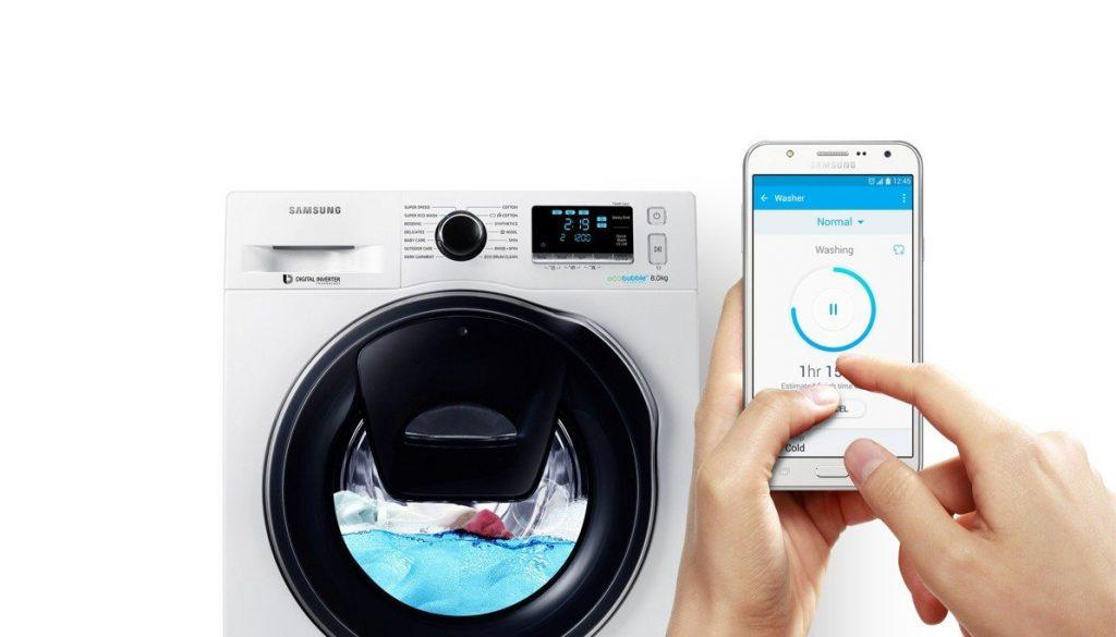 aplikace samsung pračka