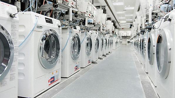 Výroba praček Miele
